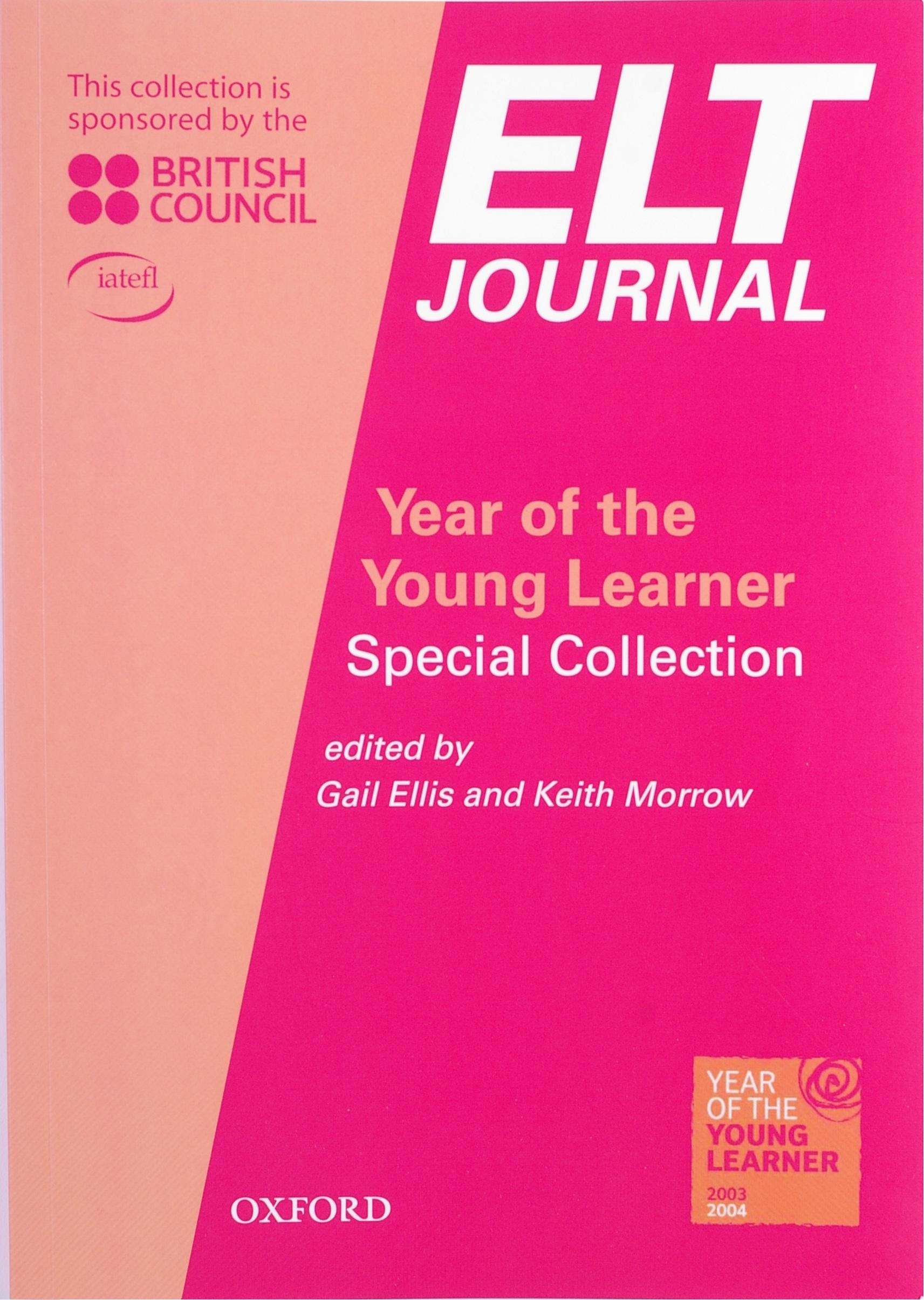 Picture of ELT Journal: Year of the young learner