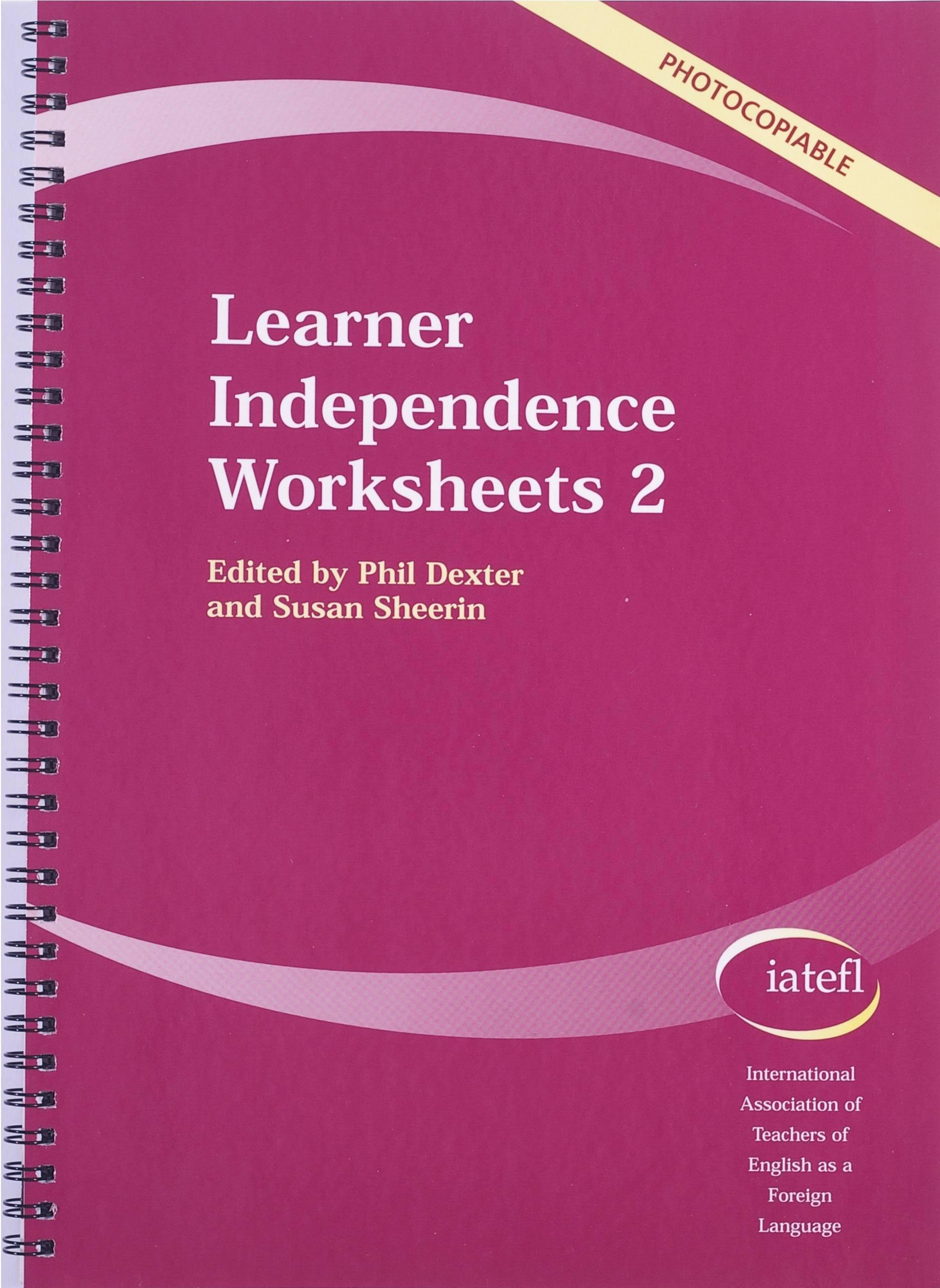 Picture of Learner Independence Worksheets 2